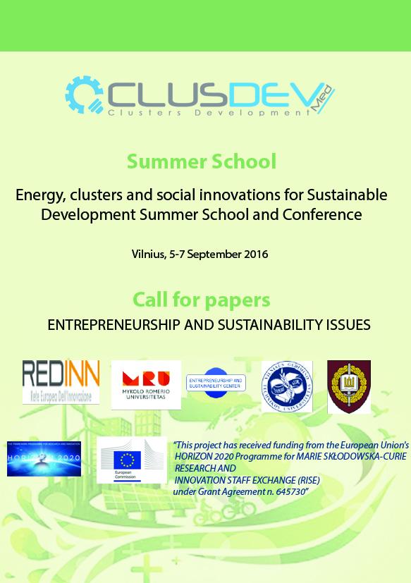 Entrepreneurship and Sustainability Center